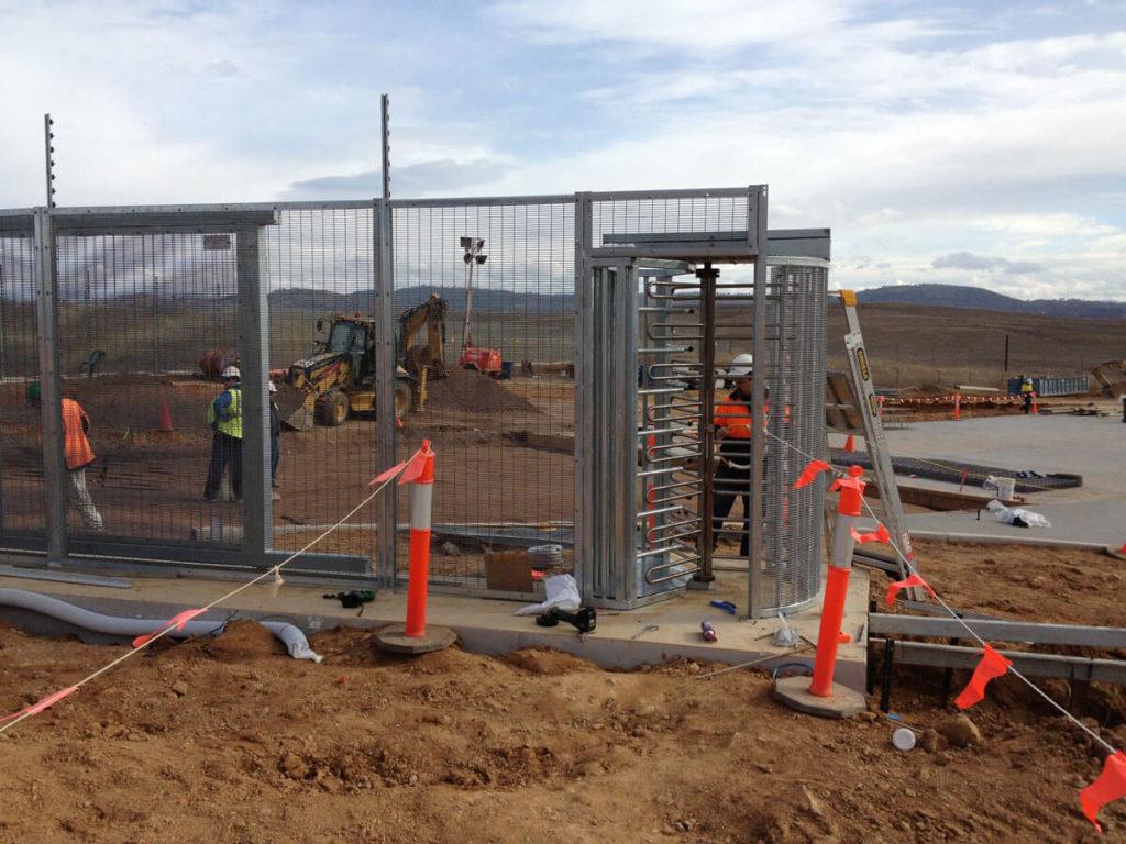 Turnstiles Installation - Security Turnstile Gate
