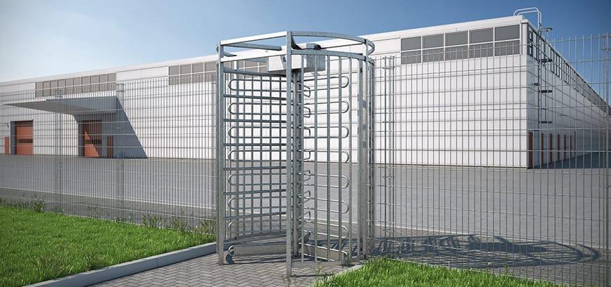 Turnstile Installation - Australian Security Fencing